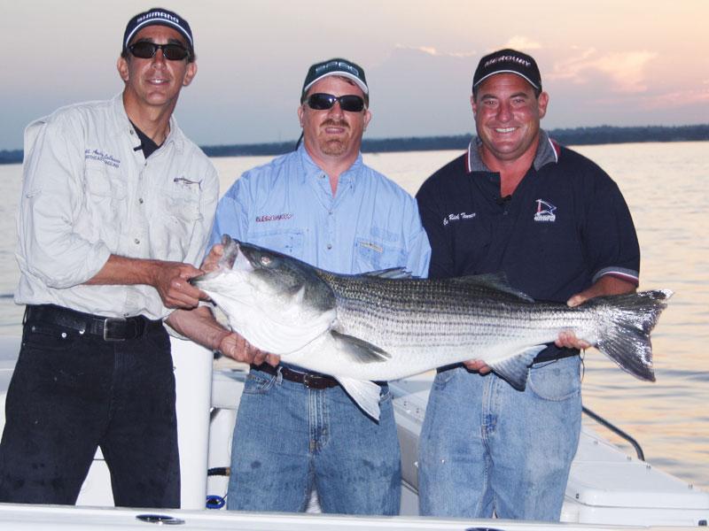 Striped Bass Fishing