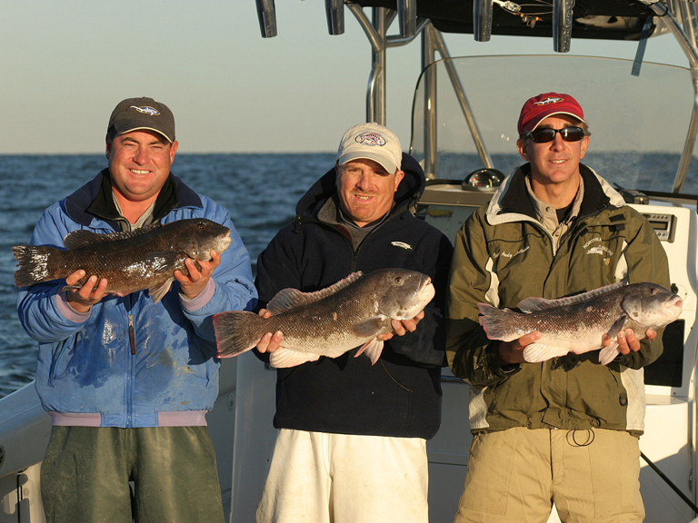 Blackfish Fishing (Tautog Fishing)