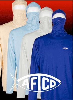 Aftco saltwater fishing apparel for Saltwater fishing clothes