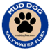 Mud Dog Clouser - Chartreuse/White