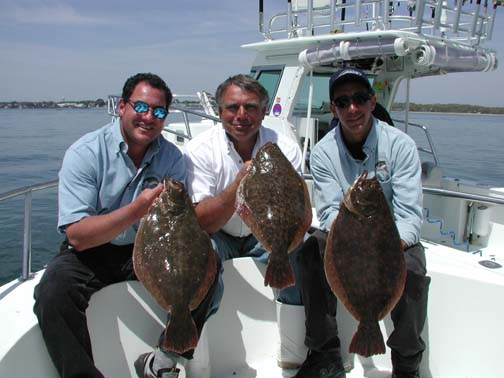 fluke fishing (summer flounder fishing)